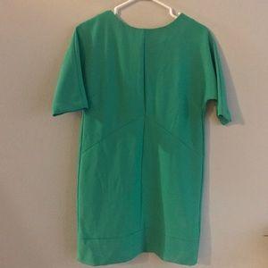 Topshop green dress! 🍀